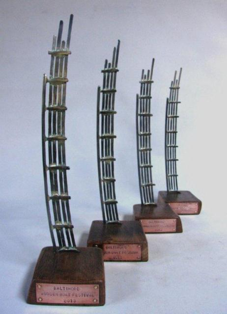 BWBF currach trophies 40 cm