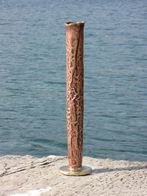 Lough Ine fluted vase 45 cm