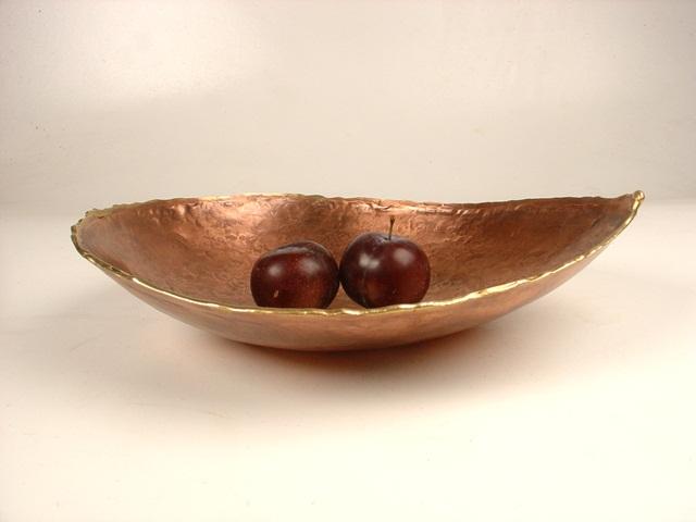 Plum bowl 27 cm diam